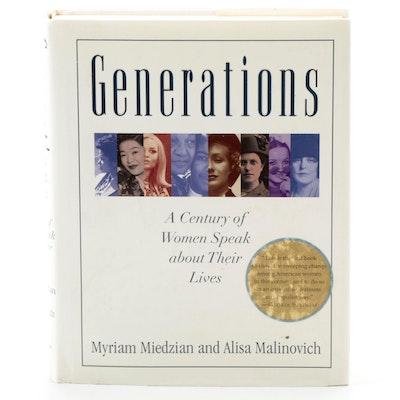 "Special Edition ""Generations"" by Myriam Miedzian and Alisa Malinovich"