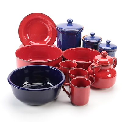 Villeroy & Boch, Crown Corning and Other Ceramic Tableware and Storage Jars