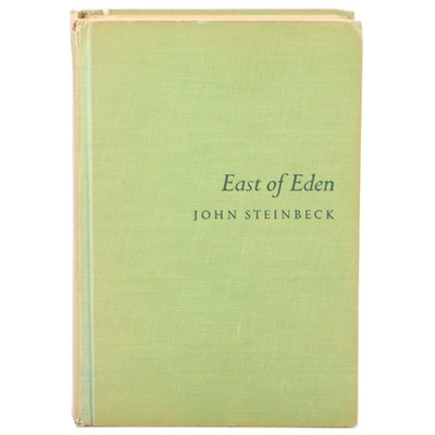 """First Trade Edition """"East of Eden"""" by John Steinbeck, 1952"""