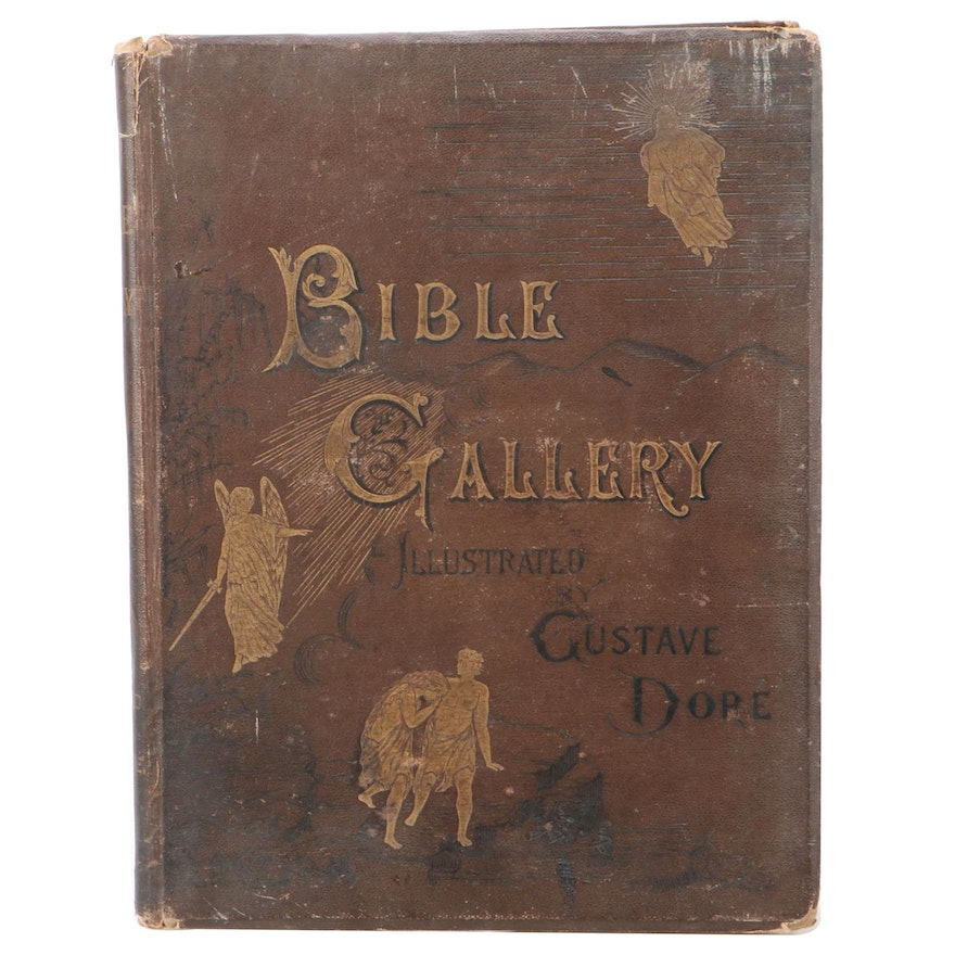 """""""The Bible Gallery"""" by Talbot W. Chambers Illustrated by Gustave Doré, c. 1880"""