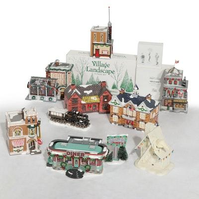 Department 56 Original Snow Village Town Buildings and Landscape Accessories