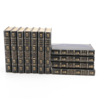 """Limited Numbered Edition """"The Holy Bible"""" Partial Set"""