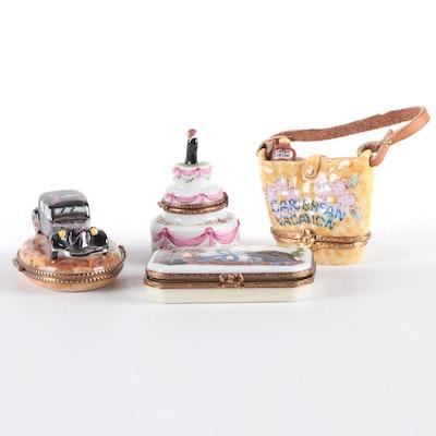 Artoria, Parry Vieille and Other Porcelain Limoges Boxes