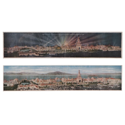 Pacific Novelty Co. Souvenir Prints of the Panama-Pacific Exposition, 1915
