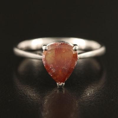 Platinum 1.70 CTW Diamond Solitaire Ring