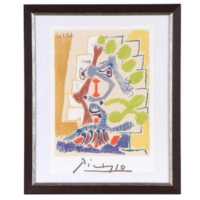 """Lithograph After Pablo Picasso """"Le Peintre"""""""