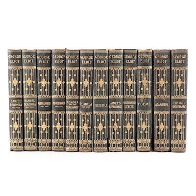 """Illustrated """"The Works of George Eliot"""" Complete Twelve-Volume Set, 1902"""