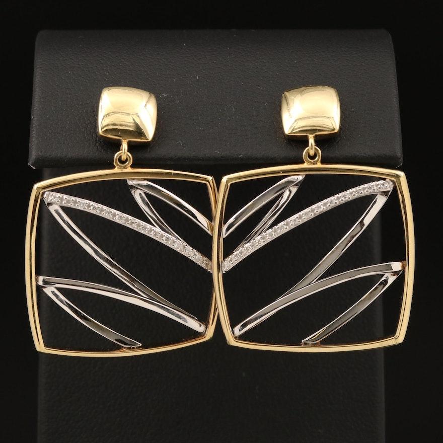 14K 0.16 CTW Diamond Earrings