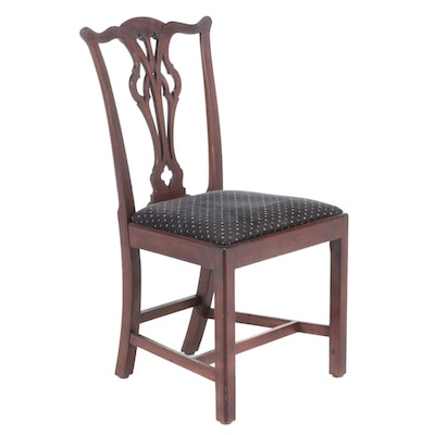 Chippendale Style Mahogany Side Chair, Late 19th/Early 20th Century