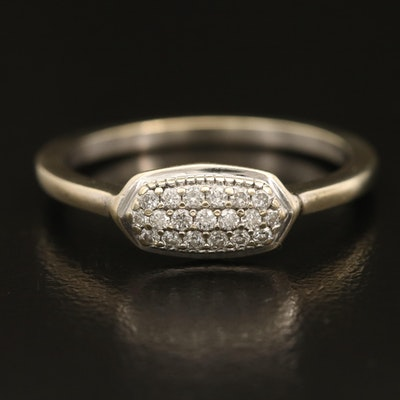Kendra Scott 14K 0.16 CTW Pavé Diamond Ring