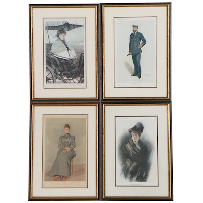 Vanity Fair Figurative Offset Lithographs and Lithographs