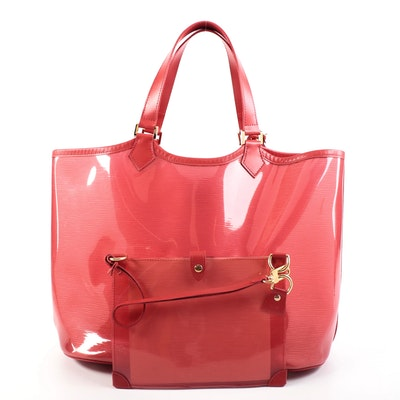 Louis Vuitton Lagoon Bay GM Beach Tote with Pouch in Epi Plage PVC