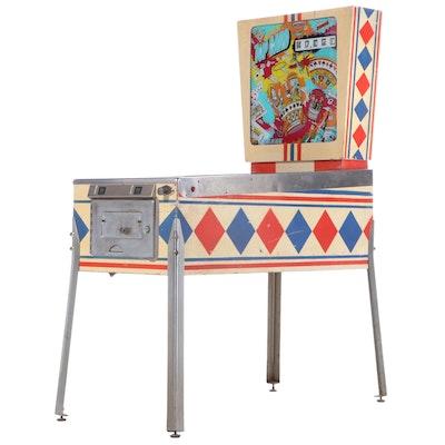 """D. Gottlieb & Co. """"Top Card"""" Pinball Machine, 1974"""