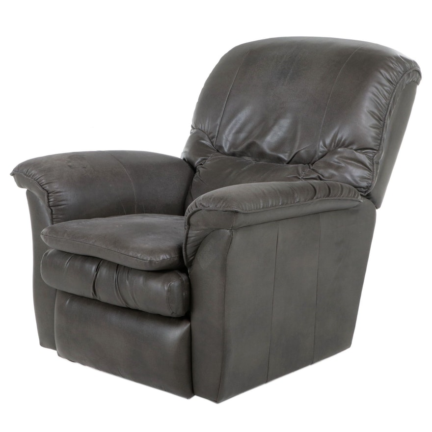 La-Z-Boy Leather Upholstered Manual Reclining Armchair