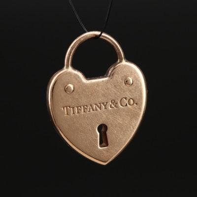 Tiffany & Co. 18K Heart Lock Charm