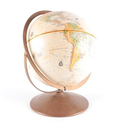 "Replogle ""Globemaster"" Desktop Globe, Late 20th Century"