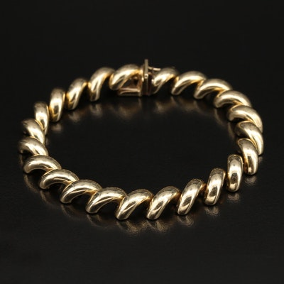 14K San Marco Chain Bracelet