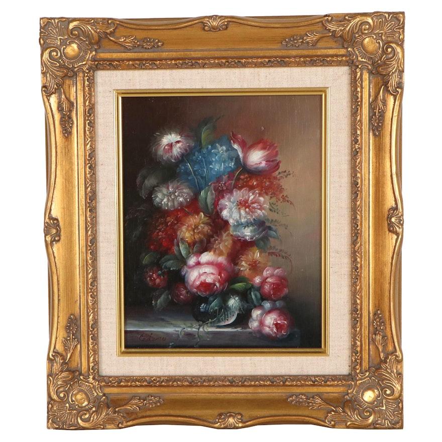 Dutch Style Still Life Oil Painting