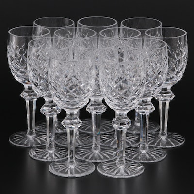 """Waterford Crystal """"Powerscourt"""" Red Wine Glasses"""