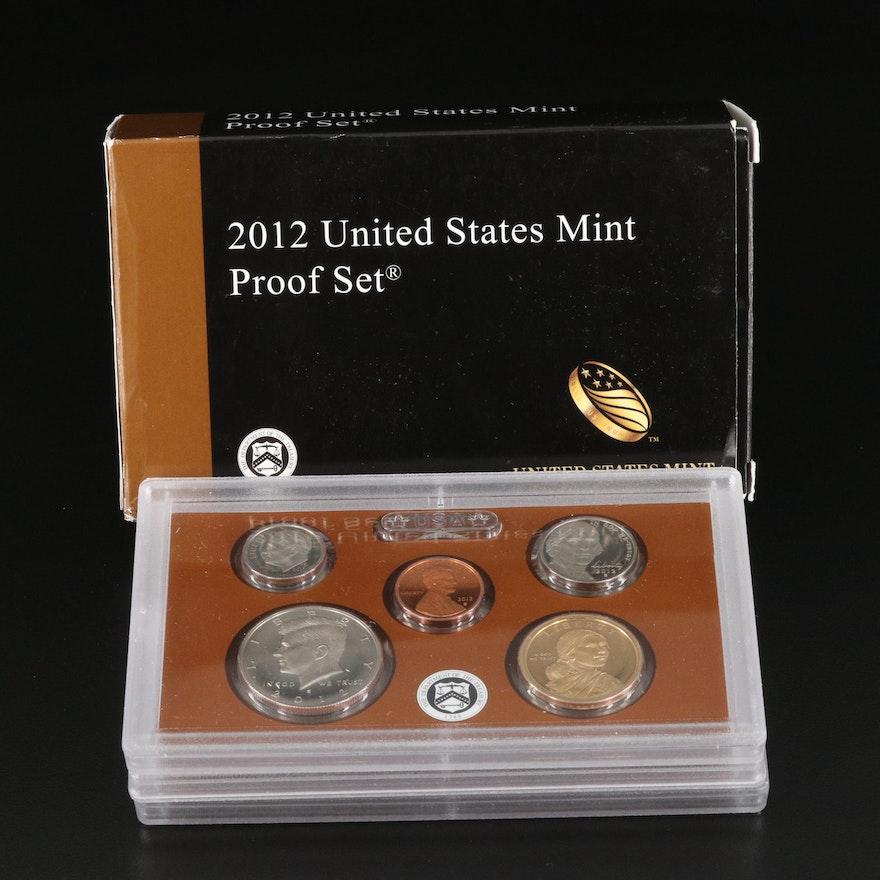 Key Date 2012 U.S. Mint Proof Set