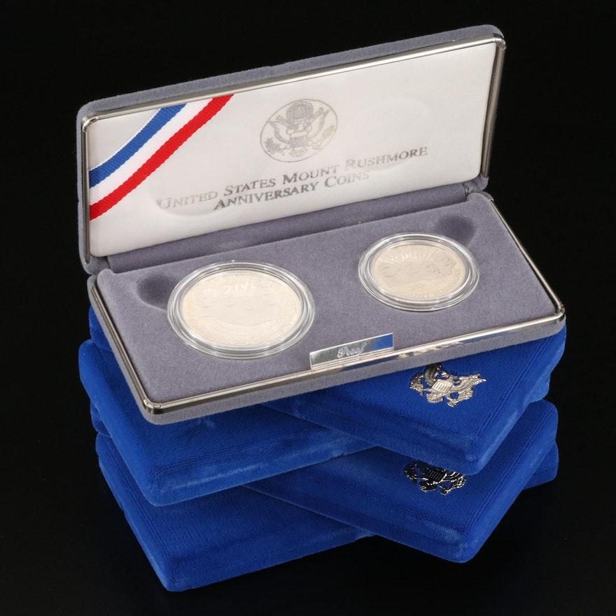 Five Modern Commemorative Coin Sets