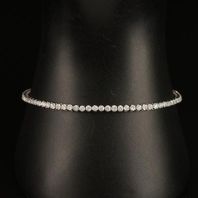 1.90 CTW Diamond Tennis Bracelet in 14K
