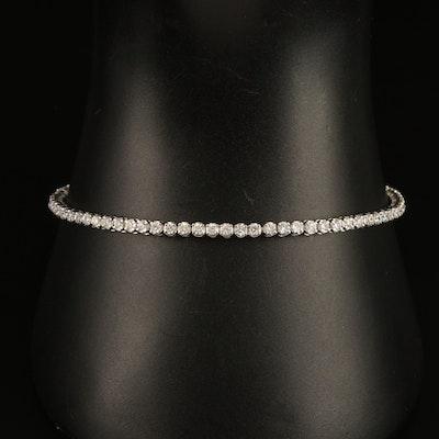 14K 1.90 CTW Diamond Tennis Bracelet