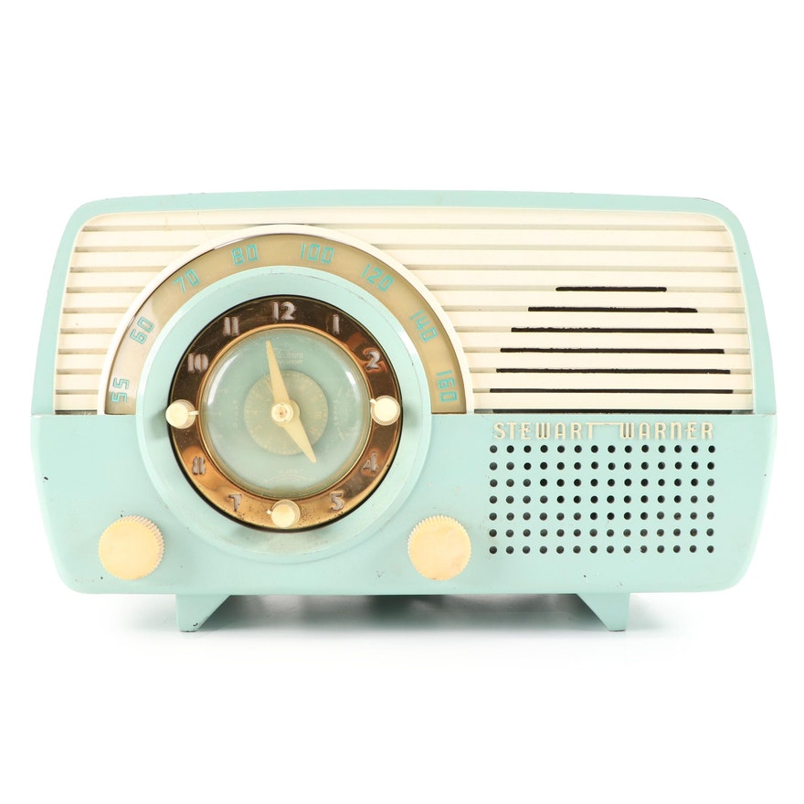 Stewart Warner Model 9162-E Combination Radio, Mid-20th Century