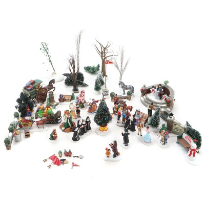 """Department 56 """"Snow Village""""and Other Characters, Late 20th Century"""