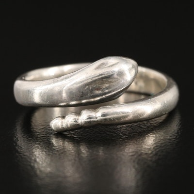 Elsa Peretti for Tiffany & Co. Sterling Snake Ring