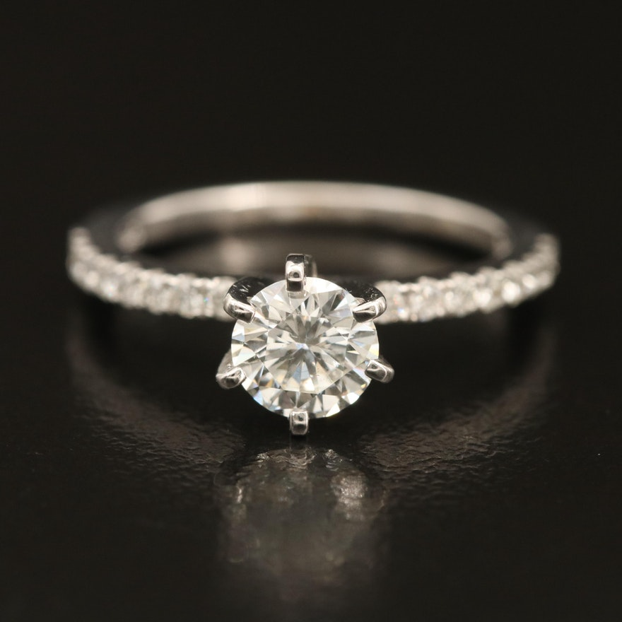 14K 0.83 CTW Diamond Ring