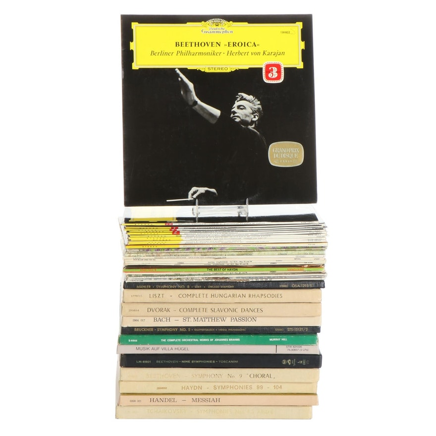 Beethoven, Brahms, Tchaikovsky, and More Vinyl Classical Albums