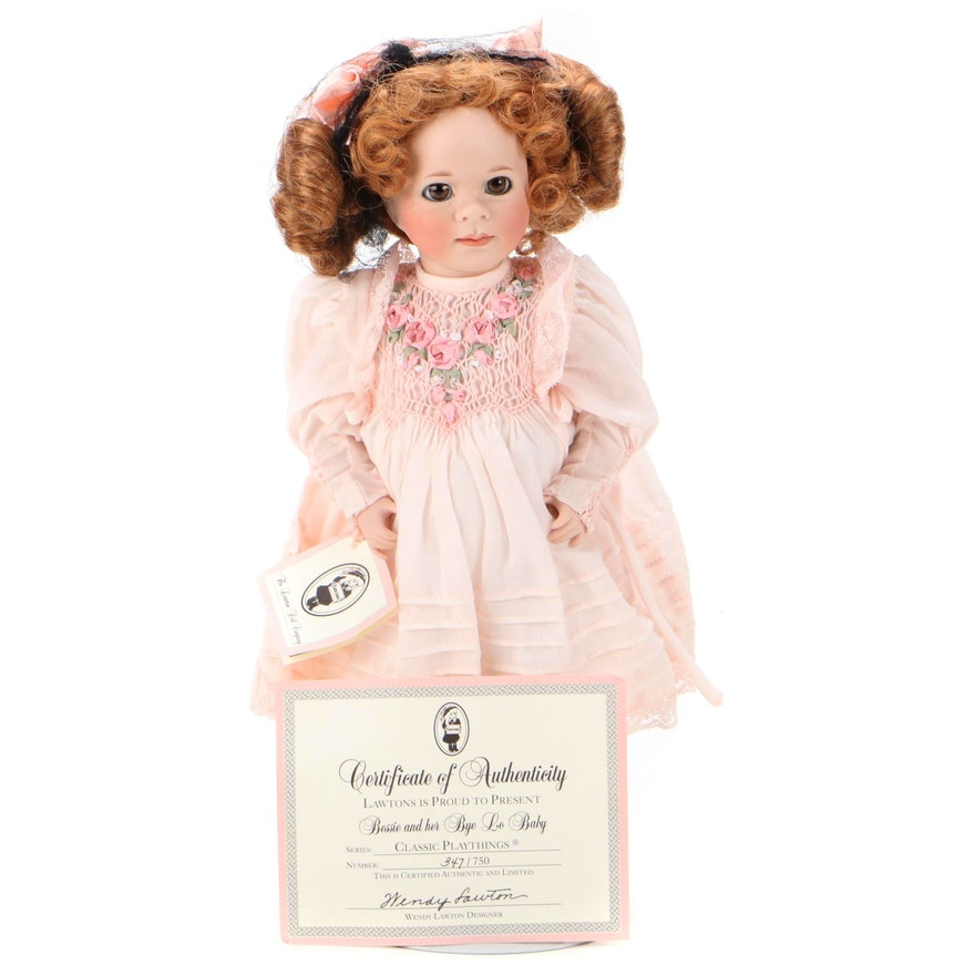 """Wendy Lawton """"Bessie and her Bye Lo Baby"""" Doll"""