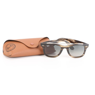 Ray-Ban RB 4540 Double Bridge Wayfarer Sunglasses with Case