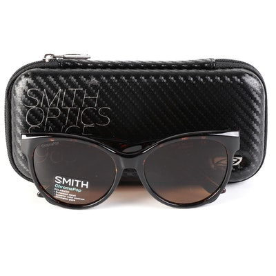 Smith Fairground Dark Tortoise 086 Sunglasses with ChromaPop Polarized Lenses