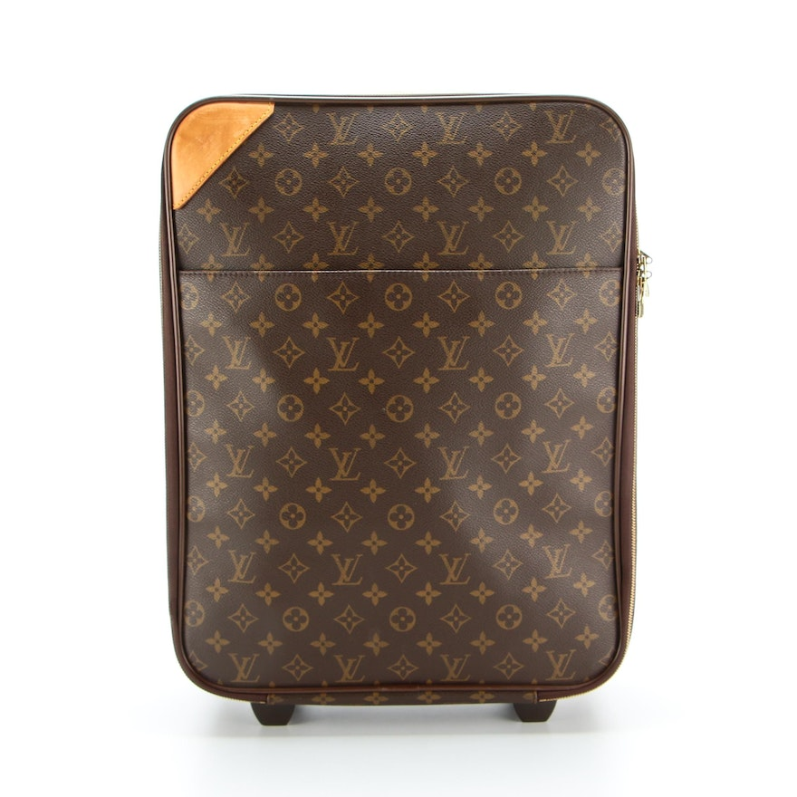 Louis Vuitton Pégase 45 Rolling Luggage in Monogram Canvas
