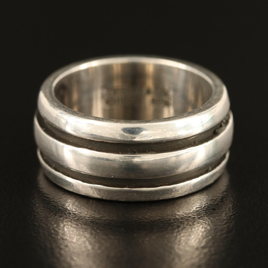 1995 Tiffany & Co. Sterling Band