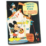 Mickey Mouse Club Oil Painting by Numbers Kit, 1960s