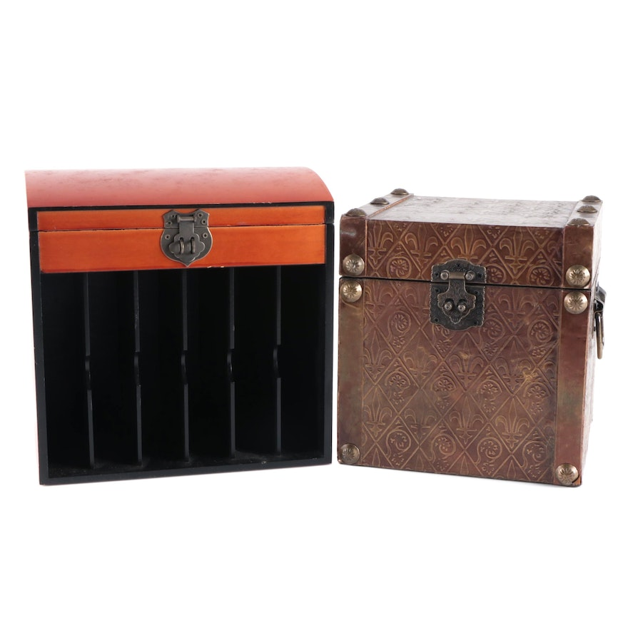 Chinese Style Resin Letter Box and Other Metal Hinged Box