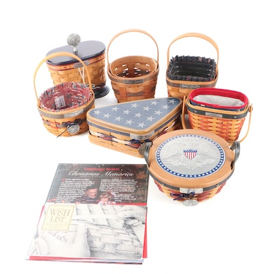 Longaberger Commemorative Inaugural and Other Baskets, Circa 2000