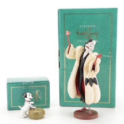 "Walt Disney Classics Collection ""101 Dalmatians"" Ceramic Figurines"