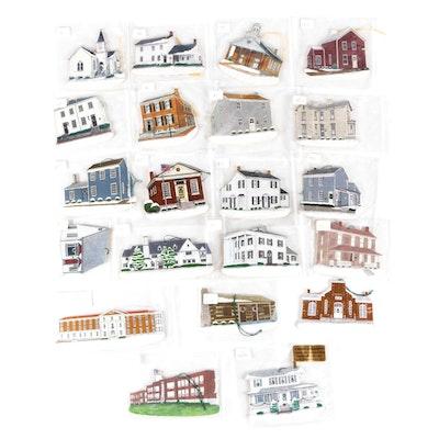 Cincinnati Area Architecture Barker Handmade Ornaments
