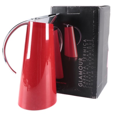 """Bugatti """"Glamour"""" Red Hot and Cold Thermal Carafe"""