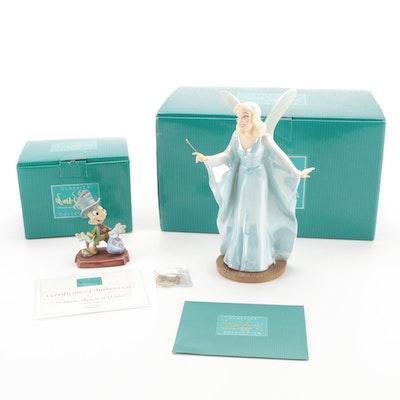 """Walt Disney Classics Collection """"Pinocchio"""" Ceramic Figurines"""