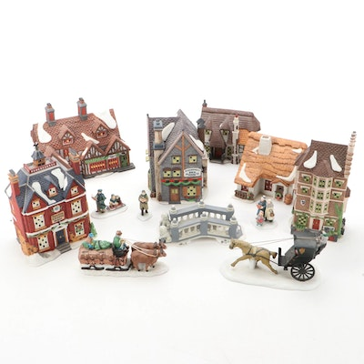 """Department 56 """"Dickens' Village Series"""" Christmas Table Decorations"""