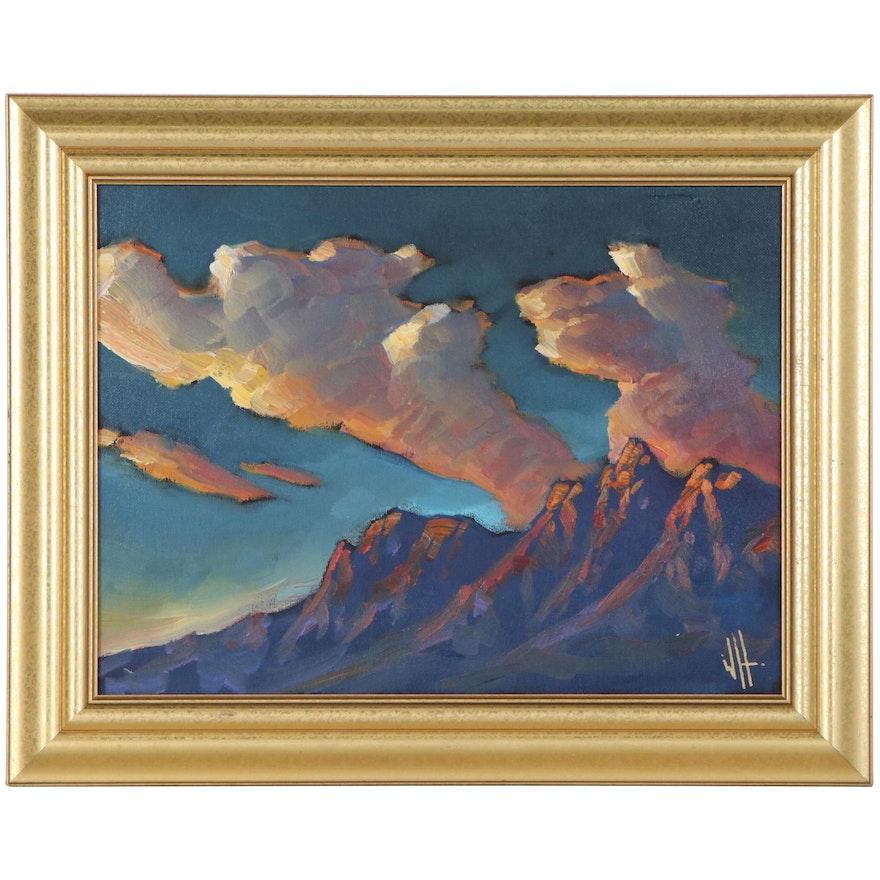 William Hawkins Landscape Oil Painting, 21st Century