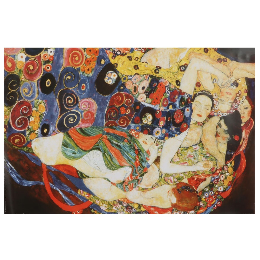 "Offset Lithograph After Gustav Klimt ""The Virgin,"" 21st Century"