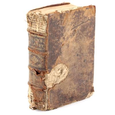 """Italian Language """"Illustrissimo Principi,"""" c. 17th Century"""
