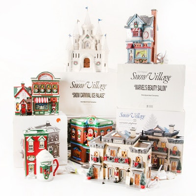 """Department 56 Snow Village """"Snow Carnival Ice Palace"""" and More"""
