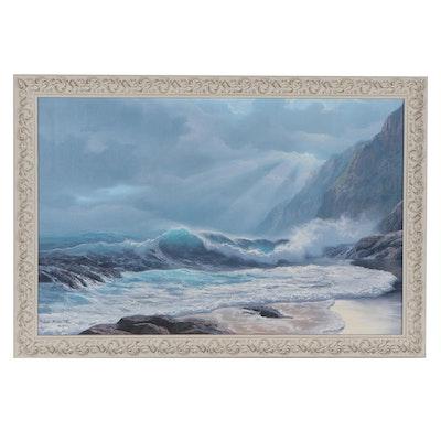 Michael Albertyn Seascape Oil Painting, 21st Century